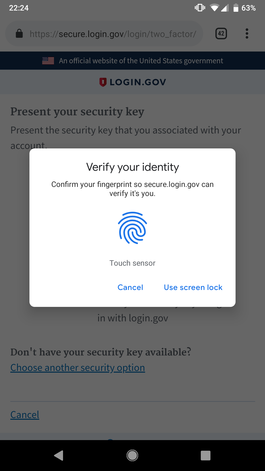 login application mobile sign in